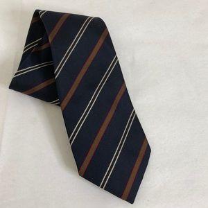 Aquascutum Striped Luxury Silk Tie